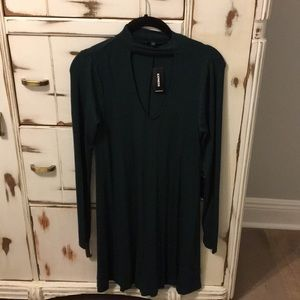 New. Never worn with tags express dress